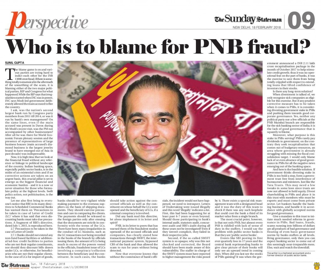 PNB Fraud pic